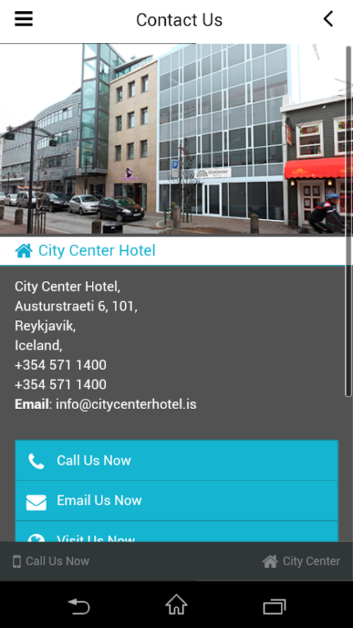 City Center Hotel- screenshot