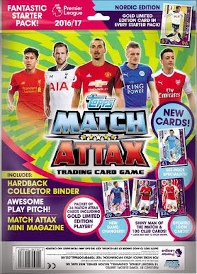 Startpaket - Topps MATCH ATTAX Premier League 2016-2017