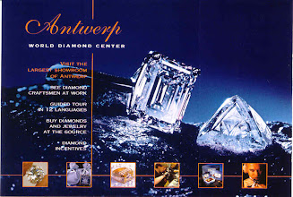 Photo: ...and diamonds. We watched the diamond cutters and compared prices with my own jeweler. No bargains here!