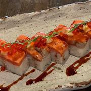 Aburi Salmon Pressed Sushi