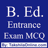 B. Ed. Entrance Exam Questions in Hindi & English