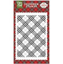 Echo Park Stamps 4X6 - Holiday Plaid UTGÅENDE