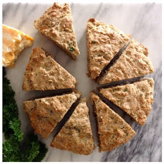 Gluten Free Herb and Cheese Scones.