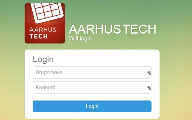 AarhusTech Login