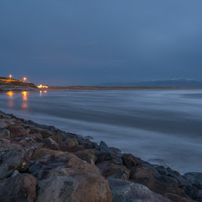 Inch beach by F Kelly - Landscapes Beaches ( winter, ireland, inch, kerry, beach )