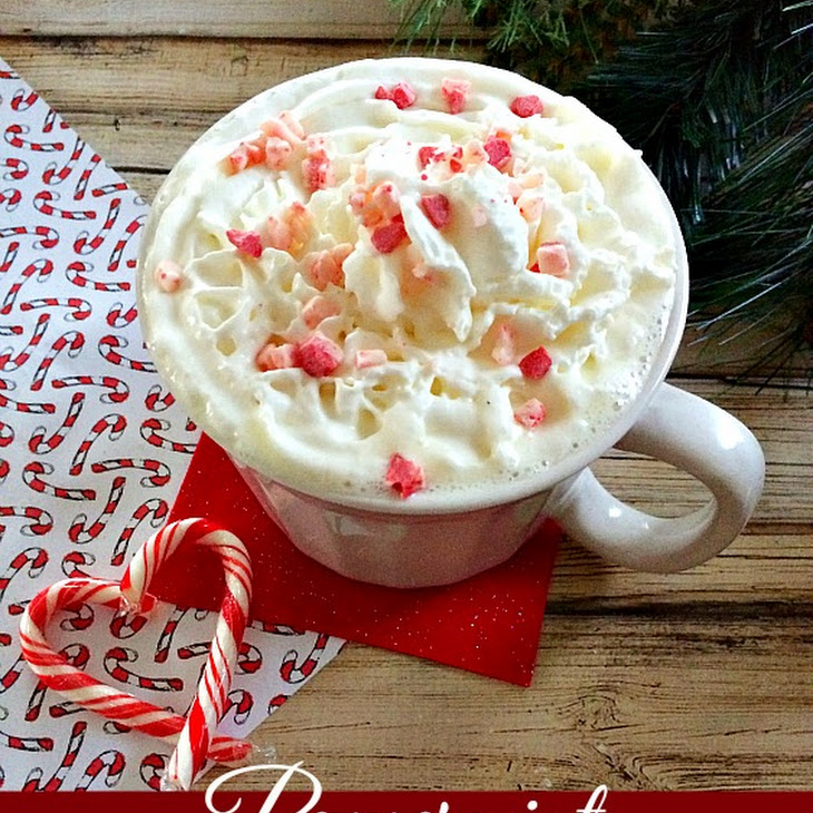 White Chocolate Peppermint Hot Chocolate Recipe | Yummly