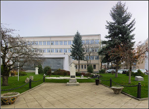 Photo: Turda - Piata 1 Decembrie 1918 - spatiu verde -  2018.11.12