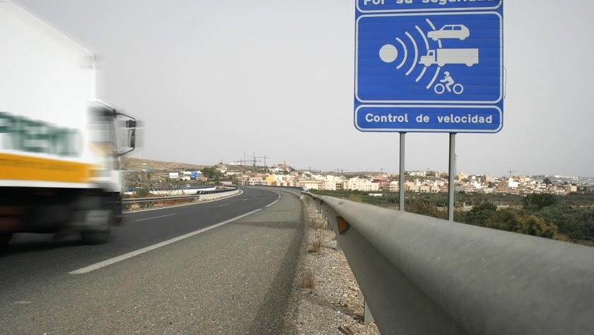 Imagen de archivo de la Autovía del Mediterráneo.