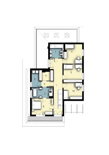 D159 - Rzut piętra