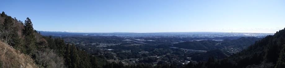 滝沢展望台からパノラマ