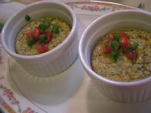 Creamy Cheesy Broccoli Timball's