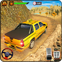 SUV Taxi Simulator : offroad NY Taxi Driving Games icon