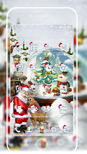 Merry Christmas Santa theme 3D