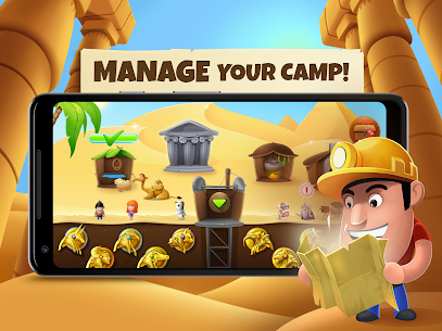 Diggy's Adventure MOD Apk ( Unlimited Energy) 3