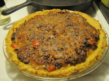 Quinoa Cheeseburger Pie Recipe