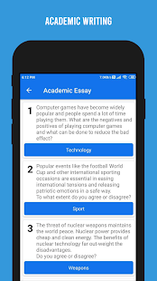 Download IELTS Writing - Academic and General For PC Windows and Mac apk screenshot 6