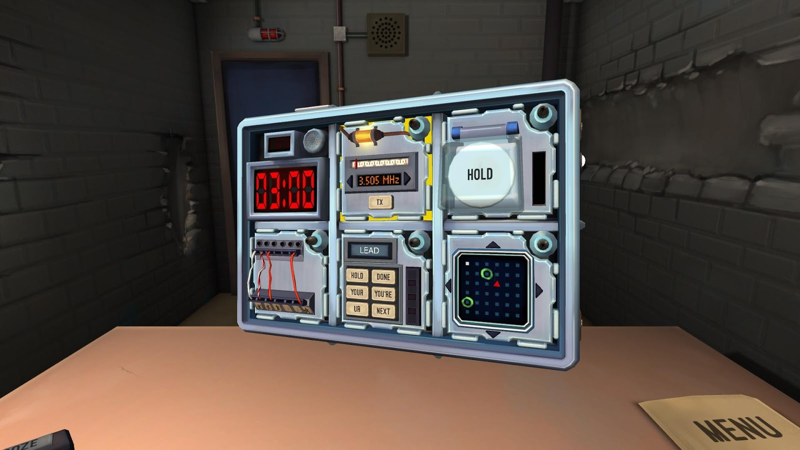 Keep Talking & Nobody Explodes- screenshot