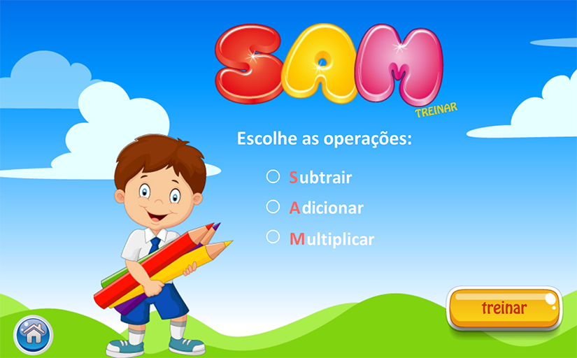 SAM– captura de ecrã
