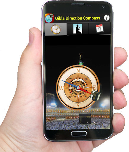 Prayer Qibla Direction Compass for PC