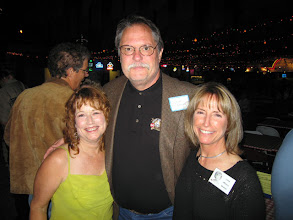 Photo: Sandy (Wormser) Menley, Mike Bradshaw, Linda (Wilson) Mitchell