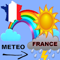 France Weather 5 days icon
