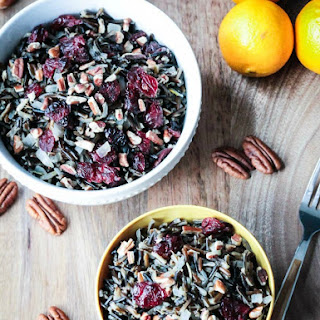 Cranberry Pecan Wild Rice Salad