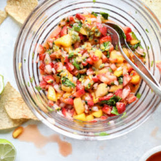 Passionfruit Strawberry Salsa.
