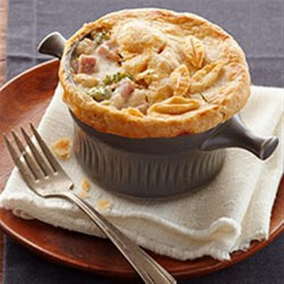 Ham and Cheese Pot Pie.