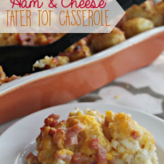 Ham and Cheese Tater Tot Casserole Recipe