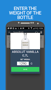 SpeedBAR Pro Alcohol inventory screenshot 7