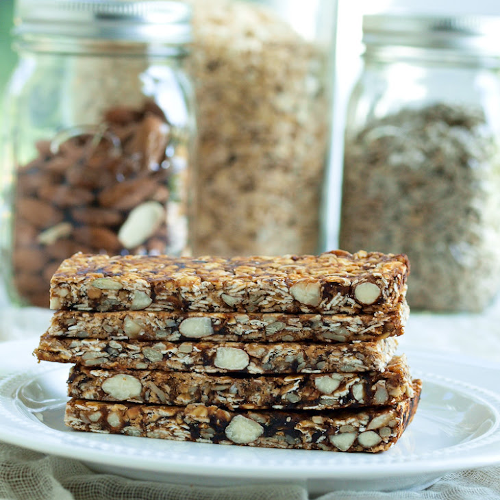 Easy Homemade Fruit, Nut, and Seed Granola Bars
