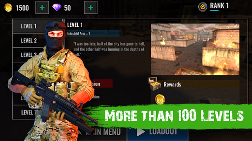 Zombie Shooter Hell 4 Survival  screenshots 3