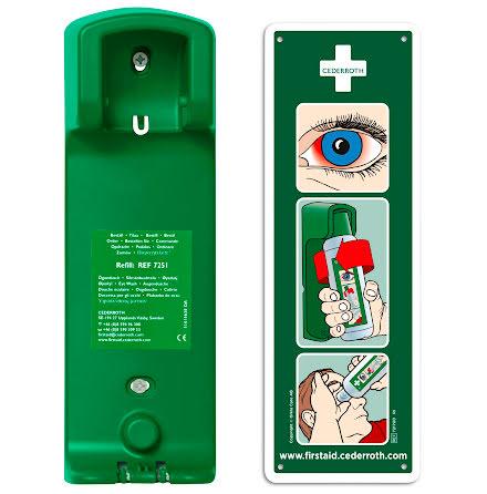 Vägghållare till ögondusch