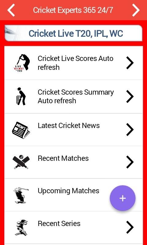 Cricket Live Scores Update- screenshot