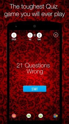 21 Questions Wrong - screenshot