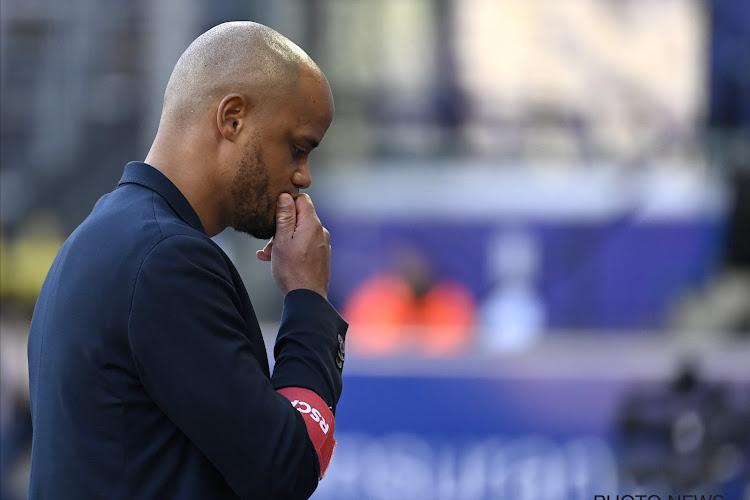 """Les supporters d'Anderlecht mettent la pression sur Kompany : """"Notre patience a des limites"""""""