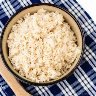 Lime Coconut Rice.