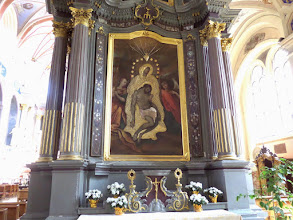 Photo: The Pieta is very special and dates back to about 1600.