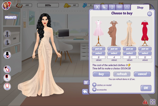 Code Triche The Great Couturier Experience APK MOD screenshots 3