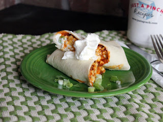 Leftover Chili Breakfast Burritos Recipe