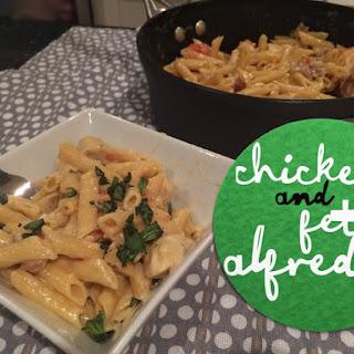 Creamy Chicken And Feta Alfredo
