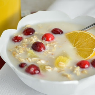 Cranberry Orange Overnight Oatmeal