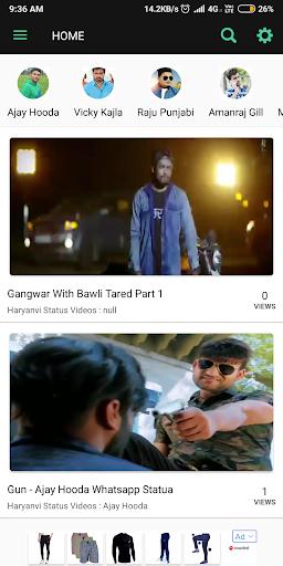 Haryanvi Status Videos by Mohit Hooda (Google Play, United