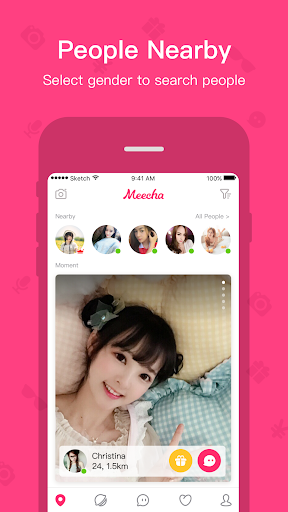 Meecha - Meet People Nearby 4.3.8 screenshots 1