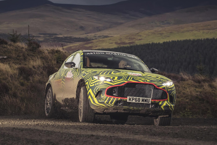 Aston Martin has high expectations for the upcoming DBX SUV in SA. Picture: SUPPLIED