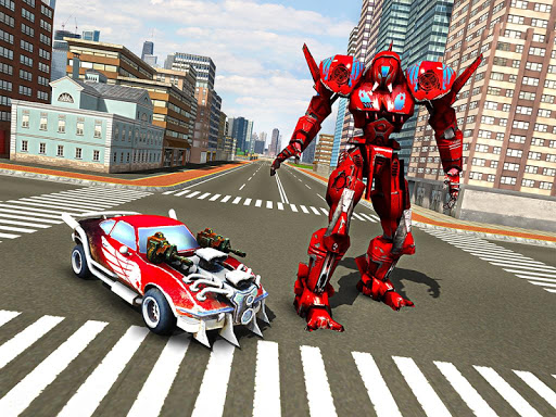 Robot Car War Transform Fight  screenshots 15
