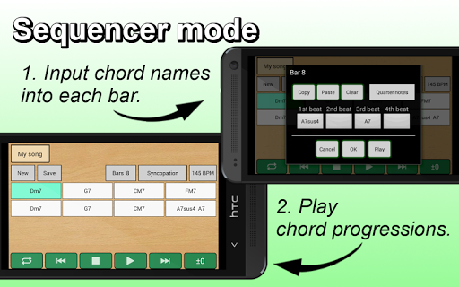 Guitar Chords Sequencer