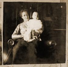 Photo: Jayne B. Kerr and Louis B. Kerr, February 1900.