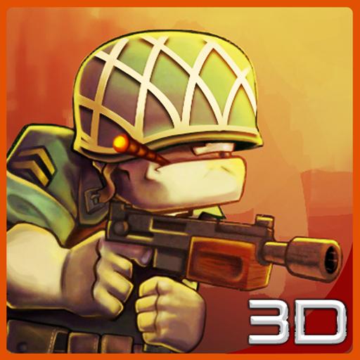 动作の兵士アサルトシュートゲーム LOGO-記事Game