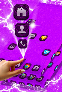 Download Vintage Purple Launcher For PC Windows and Mac apk screenshot 1